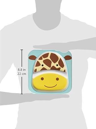 Hedgehog Skip Hop /Zoo Tableware Divided Plate