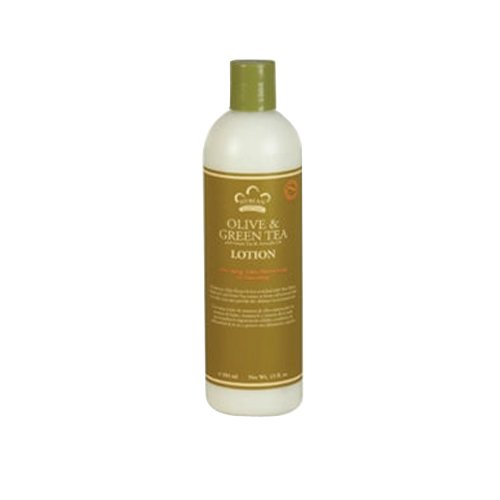 Nubian Heritage Lotion, Olive and Green Tea, 13 Fluid Ounce