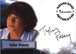 Smallville Season 6 A54 Tyler Posey Autograph Card
