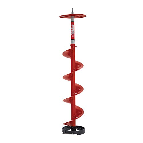 "Eskimo 35600 Pistol Bit 8"" Ice Auger Drill Adaptive Ice Auger Weighs only 3.9 Pounds, Centering Point, Redrills Old Holes Easily Extremely Fast Cutting"