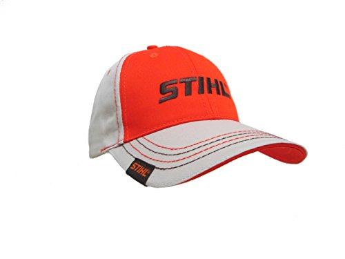mens-stihl-hat-cap-orange-khaki-sdf1402