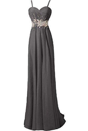TOSKANA BRAUT - Vestido - trapecio - para mujer gris