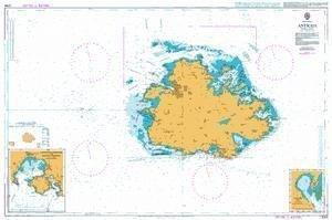Ba Diagramm 2064  Antigua von UNITED KINGDOM Hydrographic Büro