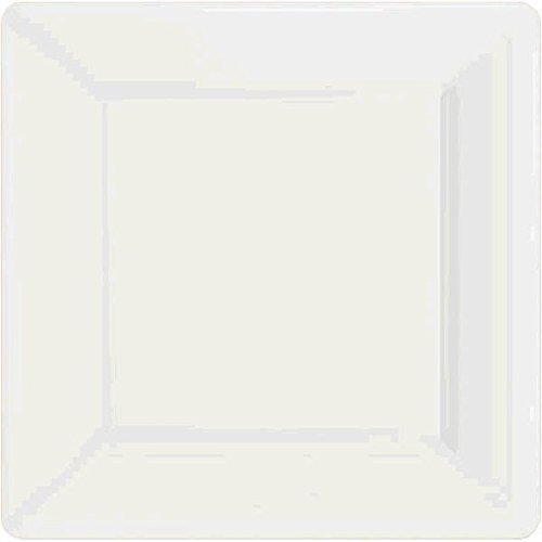 Frosty White Square Paper Plates | 7