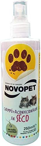 Novopet 800037 Champú Acondicionador en Seco para Gatos ...