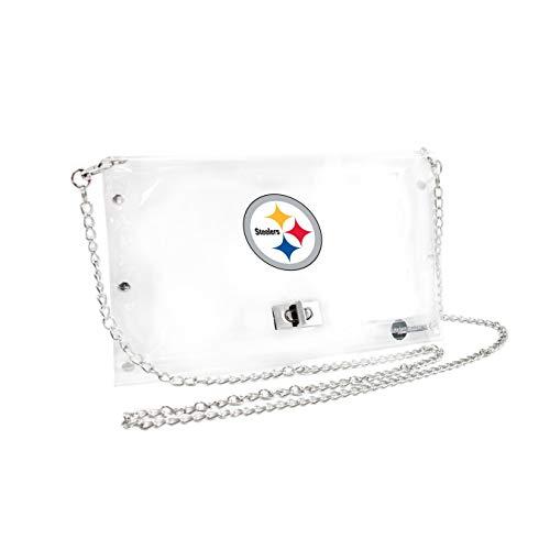 Nfl Pittsburgh Steelers Stadium - NFL Pittsburgh Steelers Clear Envelope Purse