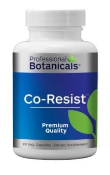 Professional Botanicals - Vegan Formulated Co-Resists - Synergistic Blend of Herbs and Powerful Nutrients that Supports the Immune System - 90 vegetarian capsules