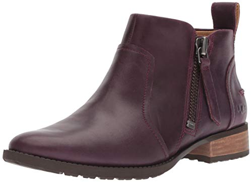 Aureo Boot Ankle Women's UGG Oxblood aWnZ7x5gv