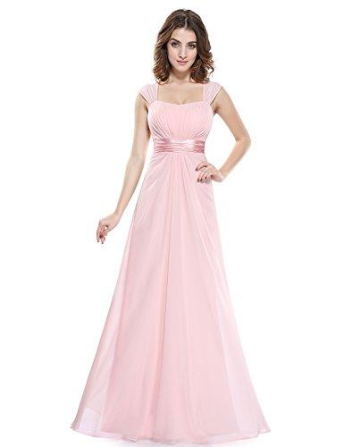 Ever-Pretty - Vestido - para mujer Pink1