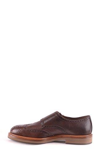BRUNELLO CUCINELLI Zapatos de Cordones Para Hombre Marrón Marrón It - Marke Größe
