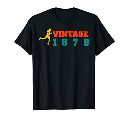 Runner's Vintage 1979 40th Birthday T-Shirt
