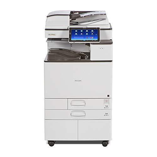 (Ricoh Aficio MP C2004ex Tabloid/Ledger-Size Color Laser Multifunction Printer - 20ppm, Print, Copy, Scan, Auto Duplex, Network, 1200 x 1200 DPI, 2GB Memory, 250 GB HDD, 2 Trays, Stand)