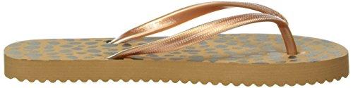 flip*flop Original Spots - Sandalias Mujer Marrón - Braun (Brown sugar 833)