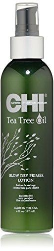 CHI Tea Tree Oil Blow Dry Primer Lotion, 6 FL Oz