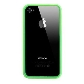 iPhone 4 Bumper Case (Green)