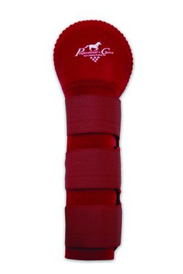 Professionals Choice Equine Tail Wrap (Universal Size, Crimson Red) by Professional's Choice