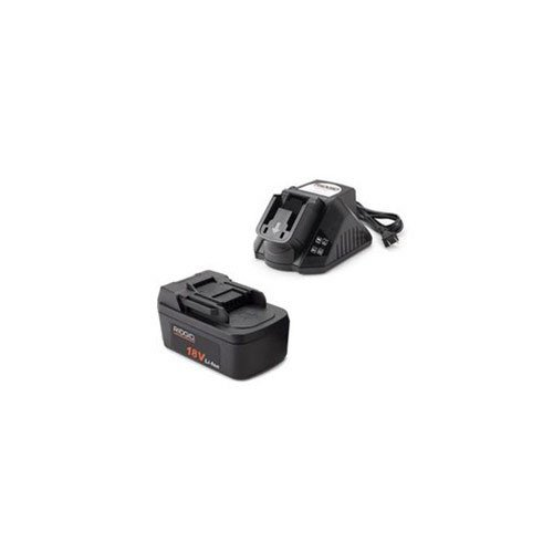 Ridgid 44848 One 2.0Ah Battery, One 120V Charger (Ridgid Cordless Set Power Tool)