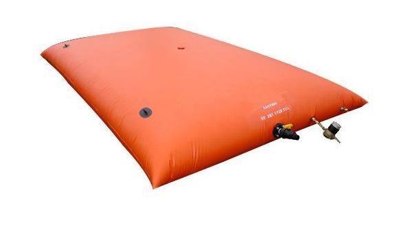 Portable Water Fol-Da-Tank PW-2500-BLK Pillow Style Tank 127 x 14 x 2 Black