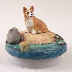 Conversation Concepts Miniature Welsh Corgi Pembroke Candle Topper Tiny One