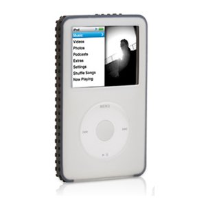 Griffin FlexGrip Silicone Case 2-Pack for 80 GB iPod classic 6G (Black/Red and Clear/Black)