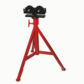 PT 56672 Roller Head Pipe Stand 31''-51'' Pipe Supports by PT