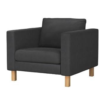 Karlstad Fauteuils Ikea.Ikea Karlstad Armchair Cover Sivik Dark Grey Amazon Co