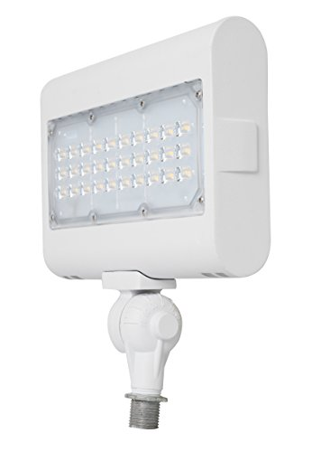 Westgate Lighting LED Flood Light With Knuckle Mount - Best Security Landscape Lights Fixture For Outdoor, Yard, Garden - Safety Floodlights - UL Listed 7 Year Warranty (50W, 5000K Cool White)