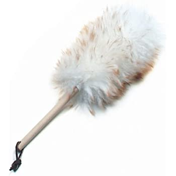 """Norpro Pure Lambswool Duster, 12"""""""