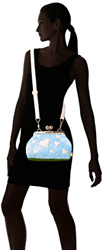 blue Blu Cupcake X A 13x20x30 Borse Irregular Donna w H Candy Spalla Choice L Cm fqEI08