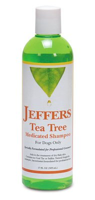 Jeffers Tea Tree Medicated Shampoo for Dogs! 17 oz - with a FREE pet toy! by Jeffers