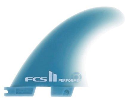 (FCS II Performer Glass Flex Surfboard Tri Fin Set - Medium)
