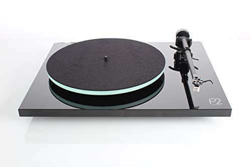 REGA Planar 2 Turntable with RB220 Tonearm and Carbon Cartridge (Gloss Red) (Best Cartridge For Rega Planar 2)