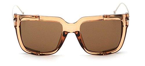 GAMT Street Punk Sunglasses Rectangle Full Frame Eyewear Influx of People - Fake Hut Sunglass Oakleys