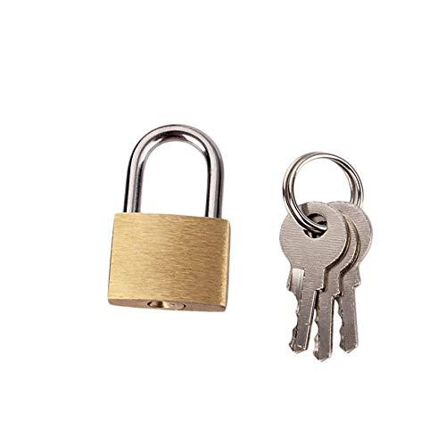 Florencinid 20mm pequeño candado de Equipaje Mini Lock Bolsa de Viaje Maleta Postal