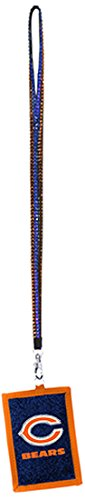 Beaded Necklace Nfl - NFL Chicago Bears Beaded Lanyard with Nylon Wallet