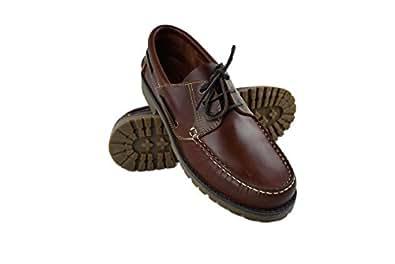Zerimar Zapato Náutico de Piel para Hombre   Zapatos Náuticos Ligeros   Mocasines Cuero   Mocasines Piel Hombre   Tallas Grandes 47-50: Amazon.es: Zapatos y ...