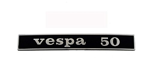 RMS Targhetta posteriore vespa 50 Rear plate vespa 50