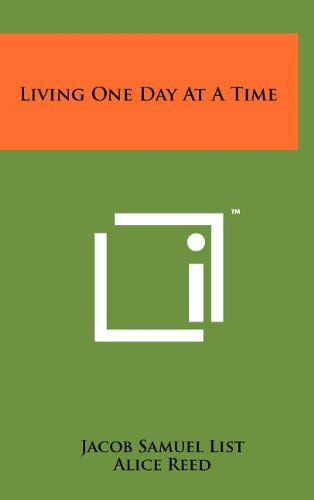 Living One Day at a Time PDF