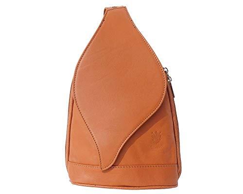 2060 Foglia Borse In Borsa Pelle Apertura Leather Market Florence Con Gm Zaino Cuoio A AwC6xzq