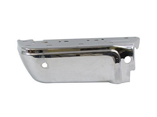 FOR 2008-2015 FORD SUPER DUTY CHROME REAR BUMPER END LH (W/SENSOR HOLES) FO1104121