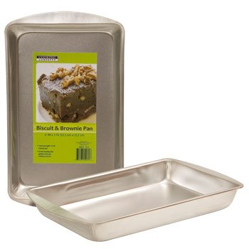 UPC 639277100726, 1 X Heavy Duty Toaster Oven Size Steel Biscuit & Brownie Pan by Cooking Concepts