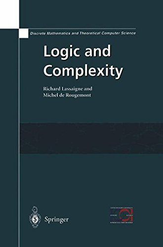 Download Logic and Complexity (Discrete Mathematics and Theoretical Computer Science) Pdf