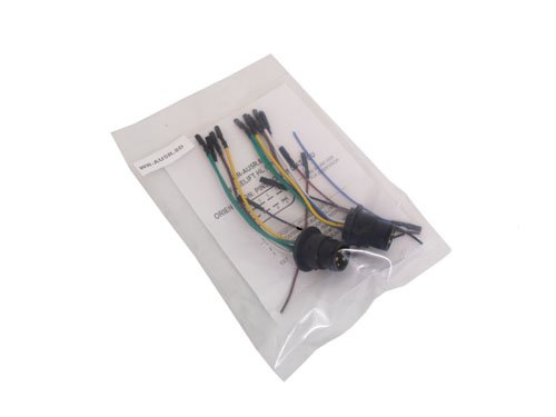 AUDI A4 B5 5-PIN ROUND PLUG TO 8-PIN D-CONNECTOR CONVERSION WIRING HARNESS