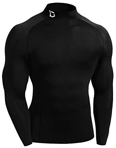 Defender New Men's Cool Compression Mock Shirts Quick Dry Football BB_M