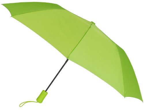lime-green-compact-windproof-auto-open-umbrella-sleeve-with-warranty
