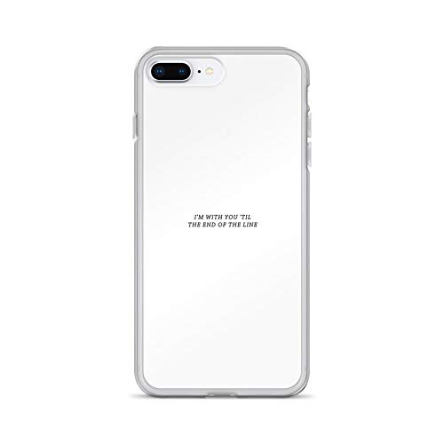 iPhone 7 Plus/8 Plus Pure Clear Case Cases Cover 'Til The End of The Line (Chris Winter Best Cameras Under 1200)