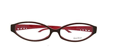 Bebe Designer (New Authentic BeBe MISFIT In Chocolate Designer Women Eyeglasses)