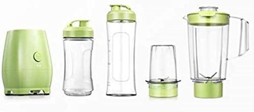 Procesador de Alimentos exprimidor multifuncional Blender molinillo de café Botella portátil, verde, uk 220v, verde, 220v eu SKYJIE