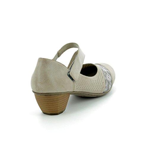 Rieker Womens Shoe 41743 Grey