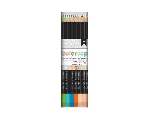 American Crafts 48-Piece Colored Pencil Set